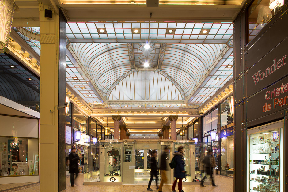 Arcade des Champs-Elysees was opened in 1926 at 78 Avenue Champs-Elysees.